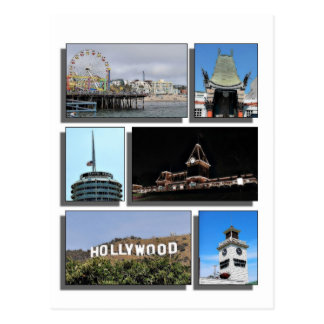 Around Los Angeles California Postcard