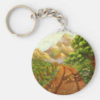 Around the Bend: Nature Themed Acrylic Landscape Keychains