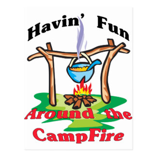 Around the Campfire Post Cards