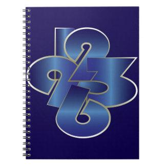 around the clock spiral notebook