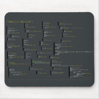 Around the Hello World Mousepad
