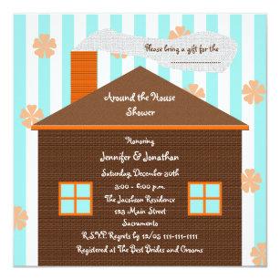 Around the house shower invitations announcements zazzle au around the house bridal shower invitation house filmwisefo