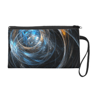 Around the World Abstract Art Bag Wristlets