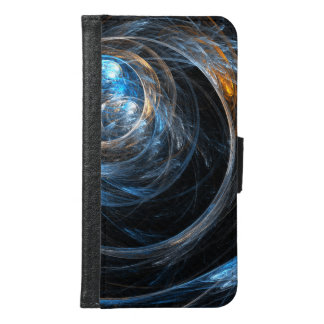 Around the World Abstract Art Wallet Case
