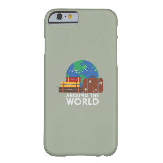 Around the world barely there iPhone 6 case