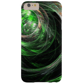 Around the World Green Abstract Art Barely There iPhone 6 Plus Case