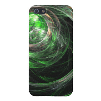 Around the World Green Abstract Art iPhone 5 Case