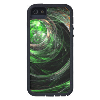 Around the World Green Abstract Art iPhone 5 Covers
