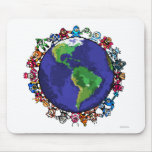 Around the World Mouse Pads