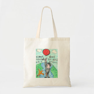 Around the World with a Balloon! Canvas Bag