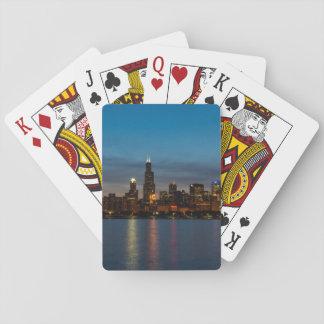 Around Willis At Night Playing Cards
