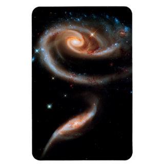 Arp 273 Rose Galaxies Rectangular Photo Magnet
