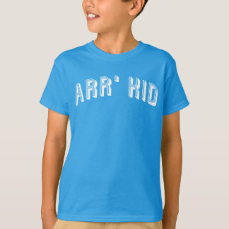 Arr' Kid Our Kid Mancunian iSlang Tee Shirt