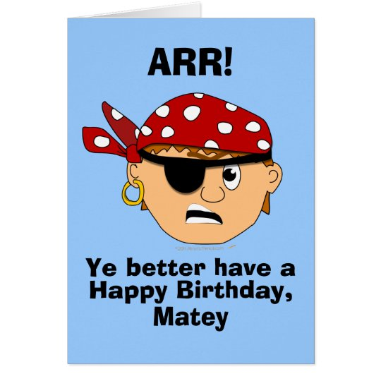 funny birthday card template