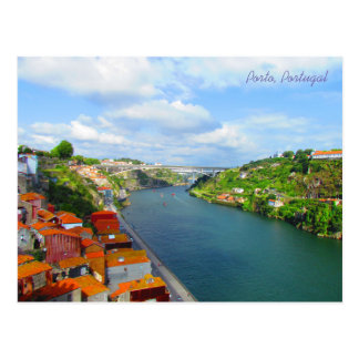 Arrábida Bridge ~ Porto, Portugal Postcard