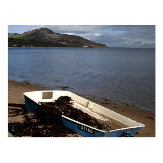 Arran Boat Postcard