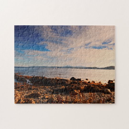 Arran from Towards Point, Firth of Clyde Scotland Jigsaw Puzzle