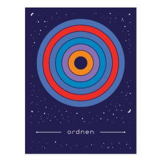 arrange postcard
