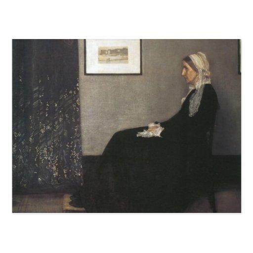 Arrangement in Grey and Black - Whistler's Mother Postcard