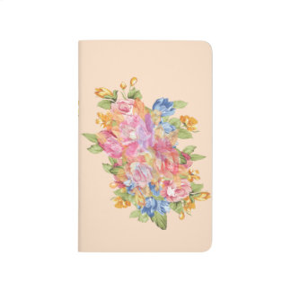 Array Of Flowers With Name Plate Journal
