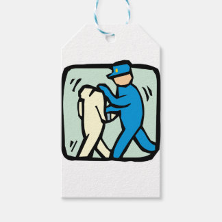 arrest gift tags