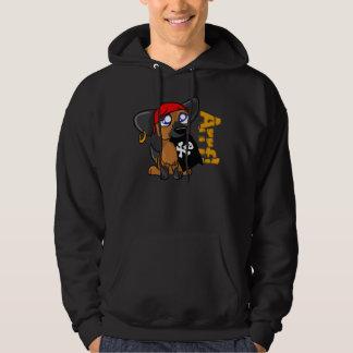 """Arrf!"" Pirate Puppy Hoodie"