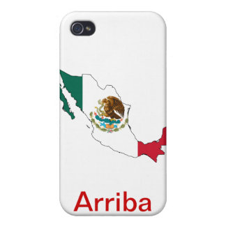 Arriba Mexico! Cover For iPhone 4