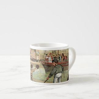 Arrival of Sinterklaas Dutch St. Nick Vintage