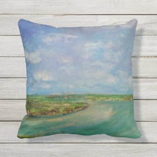 Arrival outdoor pillow