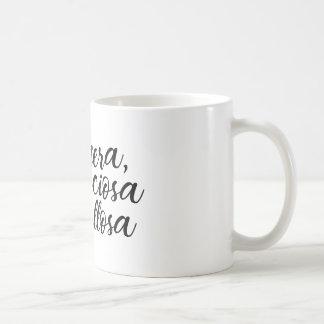 Arrogant, precious and proud coffee mug