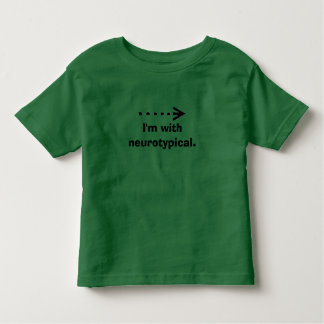 arrow-2-~-arrow2, I'm withneurotypical. Toddler T-Shirt