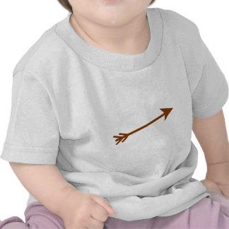Arrow Brown 15deg The MUSEUM Zazzle Gifts Shirt