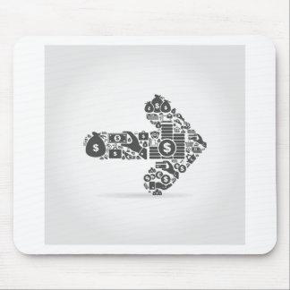 Arrow business mouse pad
