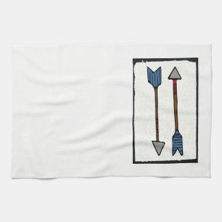 Arrow Dish Towel