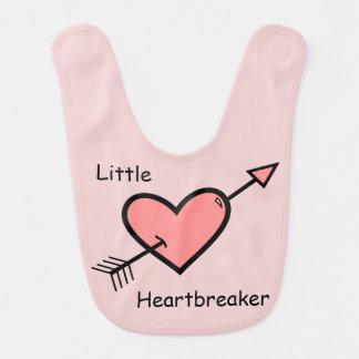 Arrow Heart Doodle - Little Heartbreaker Bib