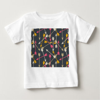 Arrow Scattered Southwest Tribal / Andrea Lauren Baby T-Shirt