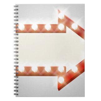 Arrow Sign Notebook