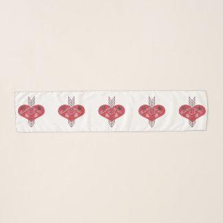 Arrow Through Love Hearts Scarf