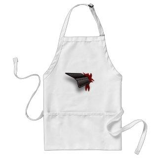 Arrow Through The Heart Halloween Kitchen Apron