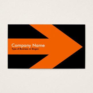 Arrow v3 (Orange) - Black