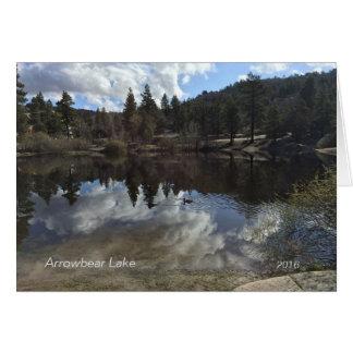 Arrowbear Lake Scenery Card
