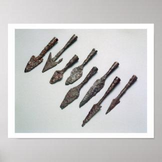 Arrowheads, Iron Age (iron) Poster