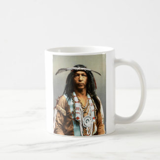 Arrowmaker, an Ojibwa brave, 1903 Basic White Mug