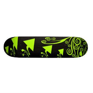 Arrows And Swirls 21.6 Cm Skateboard Deck