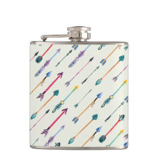 Arrows Attack Hip Flask