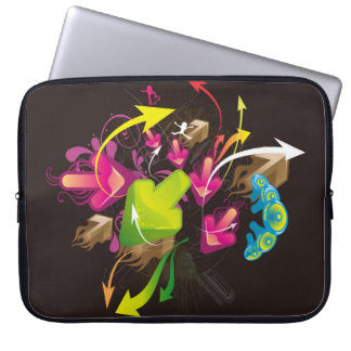 arrows_colorful_bright_ laptop sleeve