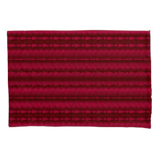 Arrows Inline Red-dish Pillowcase