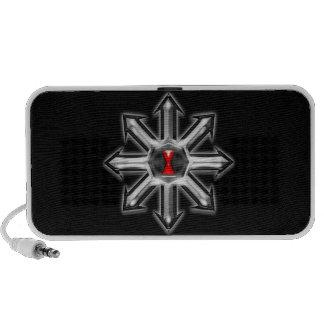 Arrows of Chaos - Black Widow Laptop Speakers