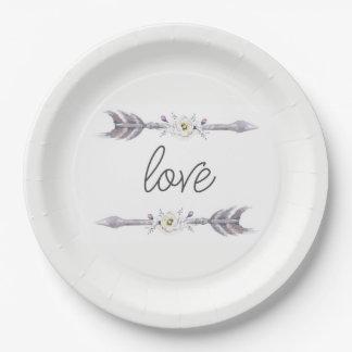 Arrows of Love Plate