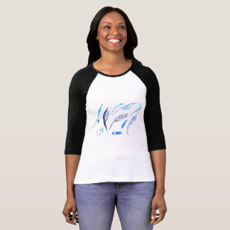 Arrows Raglan Top For Women